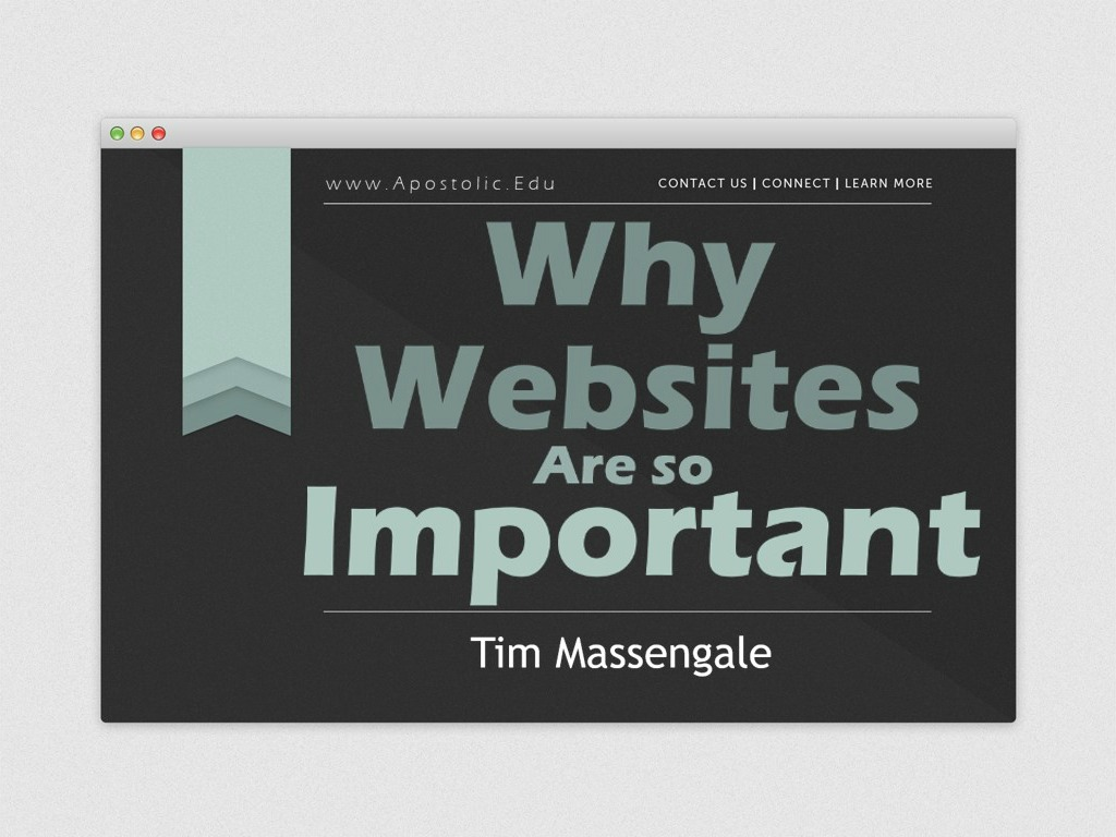 why websites are important