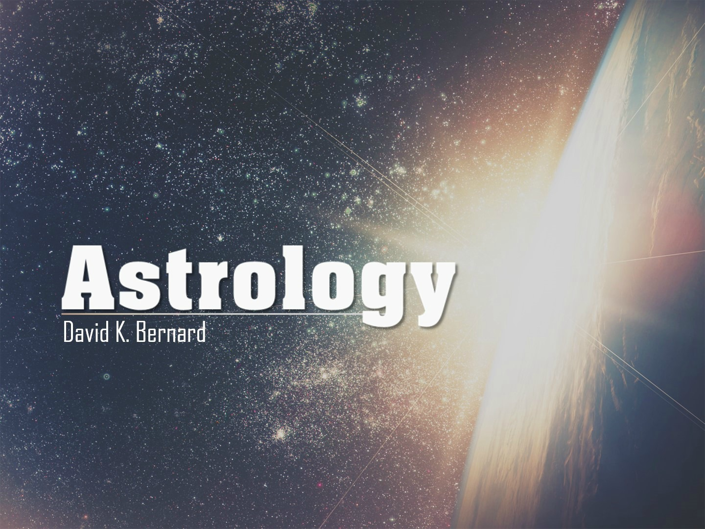 astrology definition bible