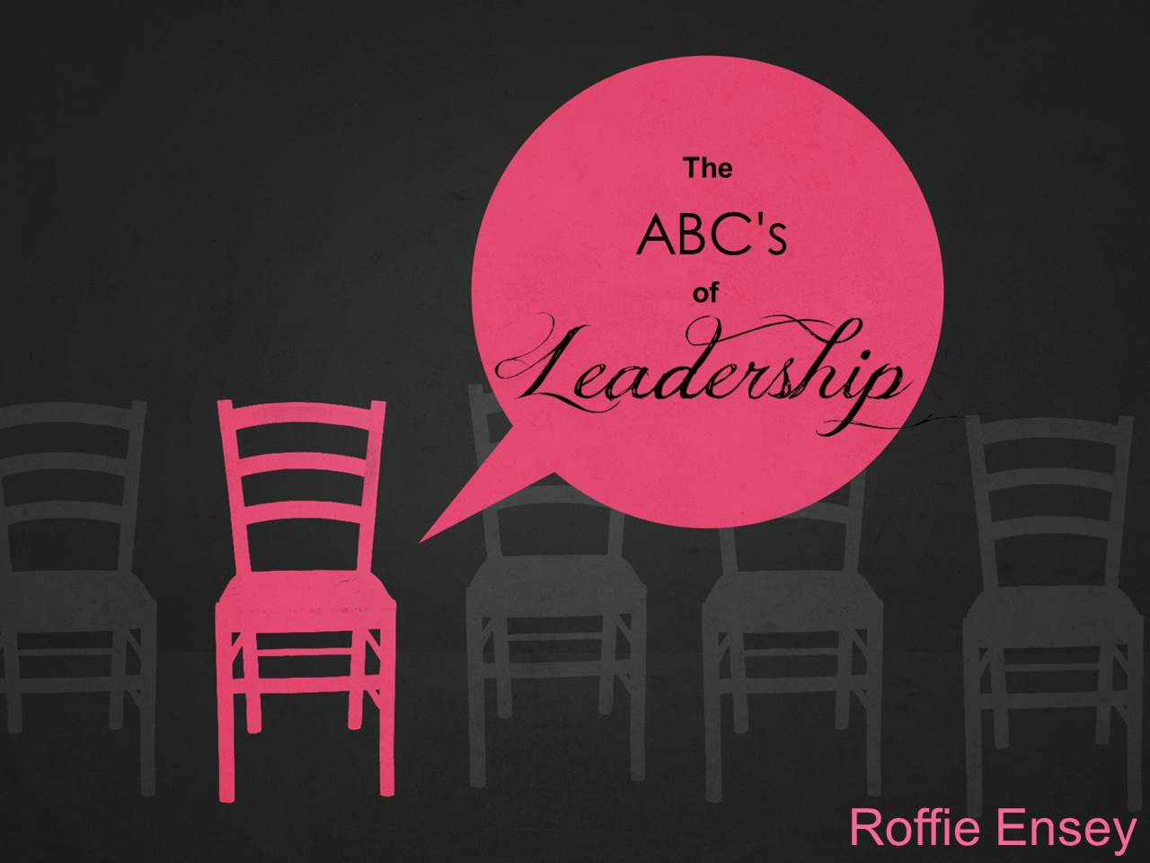 The ABC\'s of Leadership (Entire Article) | Apostolic Information Service