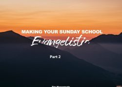 Making your Sunday school Evangelistic