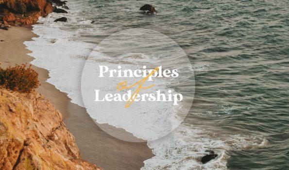 Principles of leadership powerpoint
