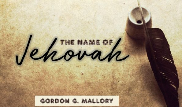 The Name of Jehovah